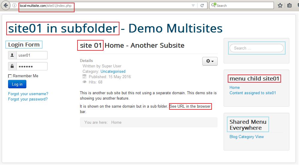 Joomla Multisites Extension